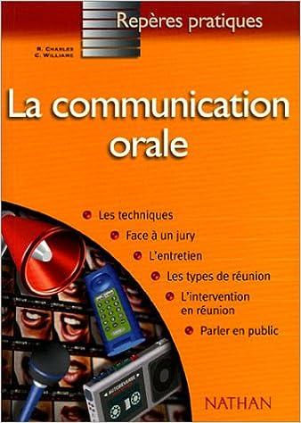 Lire un La communication orale pdf epub