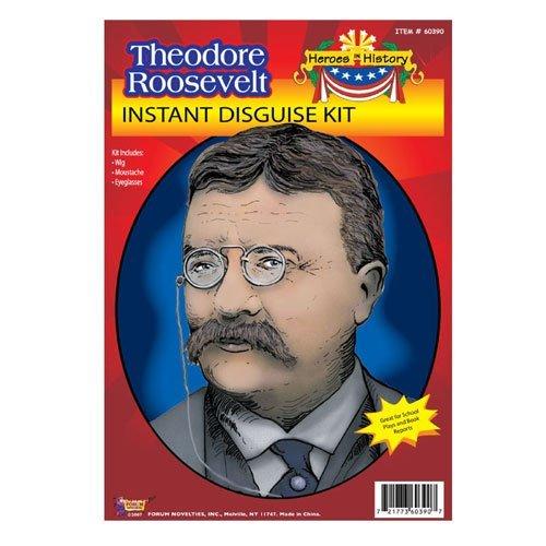 Forum Novelties 60390 Theodore Roosevelt Costume Kit School Project Kit ()