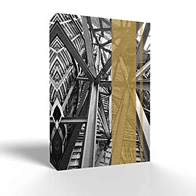 Wall26-Canvas Wall Art-Modern City-Giclee Painting Artwork for Bedroom Living Room Home Decoration - 12x18 inches