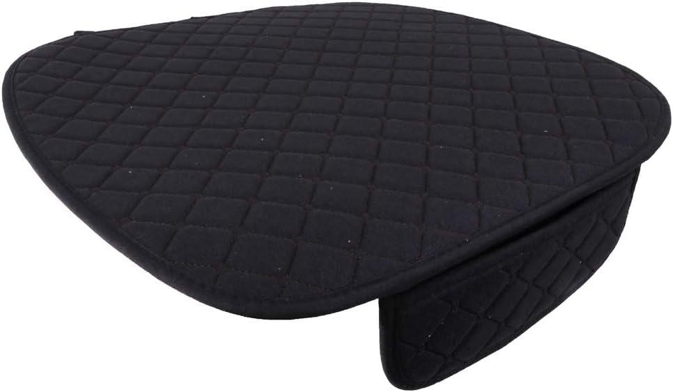gazechimp Universal Car Seat Cushion Pad with Fix Tie Black Car Seat Office Chair Home Use Bamboo Seat Cushion