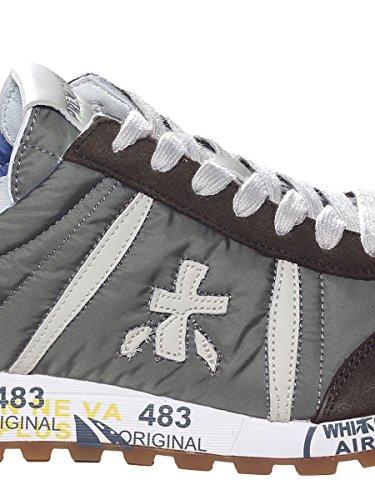 Tessuto para Gomma PREMIATA e con in Sneaker Camoscio Disegnata in Tecnico qz60wExH6