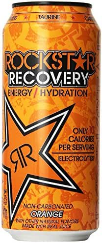 Energy & Sports Drinks: Rockstar Recovery