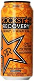 energy recovery - Rockstar Energy Drink, Orange Recovery, 16 Ounce (Pack of 24)