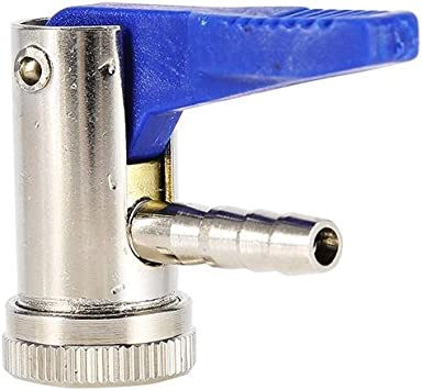 Ebtools 6mm Ventilaufsatz Reifenfüller Reifen Ventilstecker Inflator Valve Für Auto Motorrad Auto