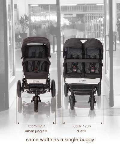 Mountain Buggy Duet 2016 Double Stroller, Black by Mountain Buggy (Image #10)