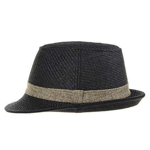 Summer Cool Negro Color Fedora Straw Sombrero Withmoons Porkpie Ld6370 Hat Pastel IZUwRTRf