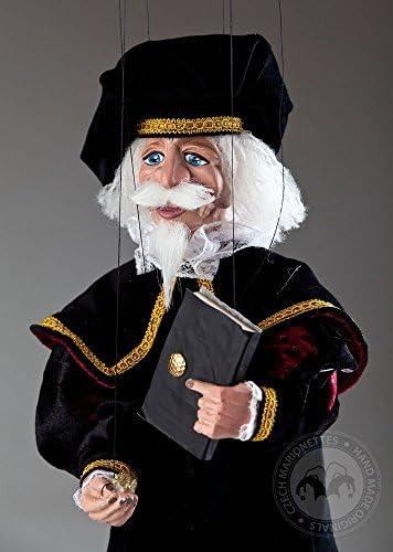 Teacher Olivier Marionette - Handmade Puppet