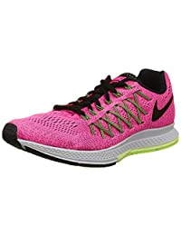 Nike Women's Air Zoom Pegasus 32 Running Shoe-Pink Power/Black/Volt