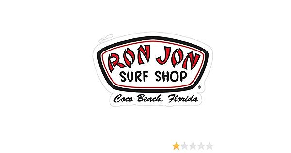 Vijk Kor Ron Jon Surf Shop calcomanías adhesivas (3 unidades ...