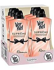 Vernel Supreme Rosa Romance wasverzachter-concentraat, geparfumeerd, 6 verpakkingen à 1,1 l