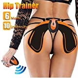 Hip Trainer for Women, Hips Muscle Toner Wireless Hip Toner Body Beauty Equipment for Women Buttocks Lifting Hip & Waist Supports