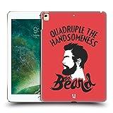 Head Case Designs Go Beard Bearded Bravado Hard Back Case for Apple iPad Pro 12.9 (2016/17)