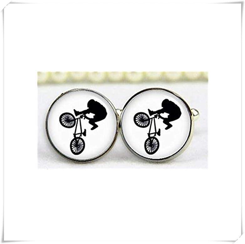 JUN Gemelos para Bicicleta BMX, Gemelos Personalizados, Joyería de ...