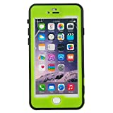 Julyfox Ultra Slim IPX8 Professional Waterproof Case For iPhone 7(4.7 inch) Scratchproof Buttons and Touch Compatible(Green)