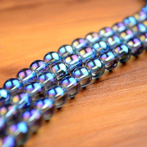 Titanium Quartz Crystal Necklace - 8