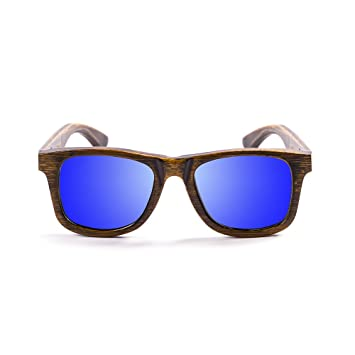 Ocean Sunglasses Wood Victoria - Gafas de Sol polarizadas de Bambú - Montura : Negro -