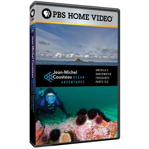Jean-Michel Cousteau Ocean Adventures - America's Underwater Treasures, Parts 1 & 2