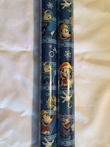 Holiday Christmas Gift Wrapping Paper - 20 sq ft Roll New 2017 Design (Disney Mickey and the Roadster - Ventura Macys