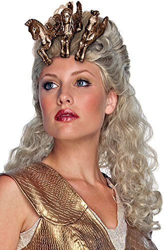 Clash of the Titans Athena Wig with Headpiece]()