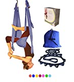 Wing Yoga Inversion Swing with Straps- Blue