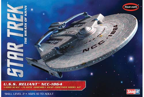 - Polar Lights 1:1000 Scale Star Trek USS Reliant Model Kit