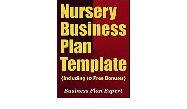 Nursery Business Plan Template Image Collections Template Design
