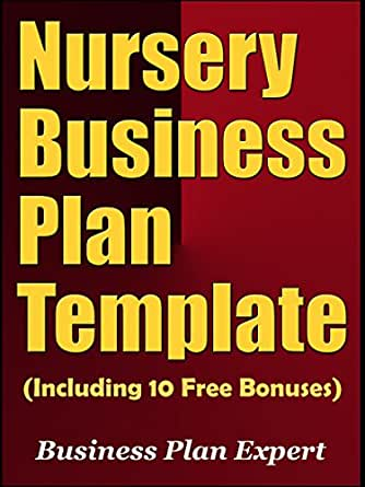 Amazon nursery business plan template including 10 free kindle price 499 cheaphphosting Images