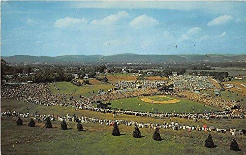 (Little League Baseball, General View of Howard J Lomade Memorial Field Williamsport, Pennsylvania, PA, USA Old Vintage Postcard Post)