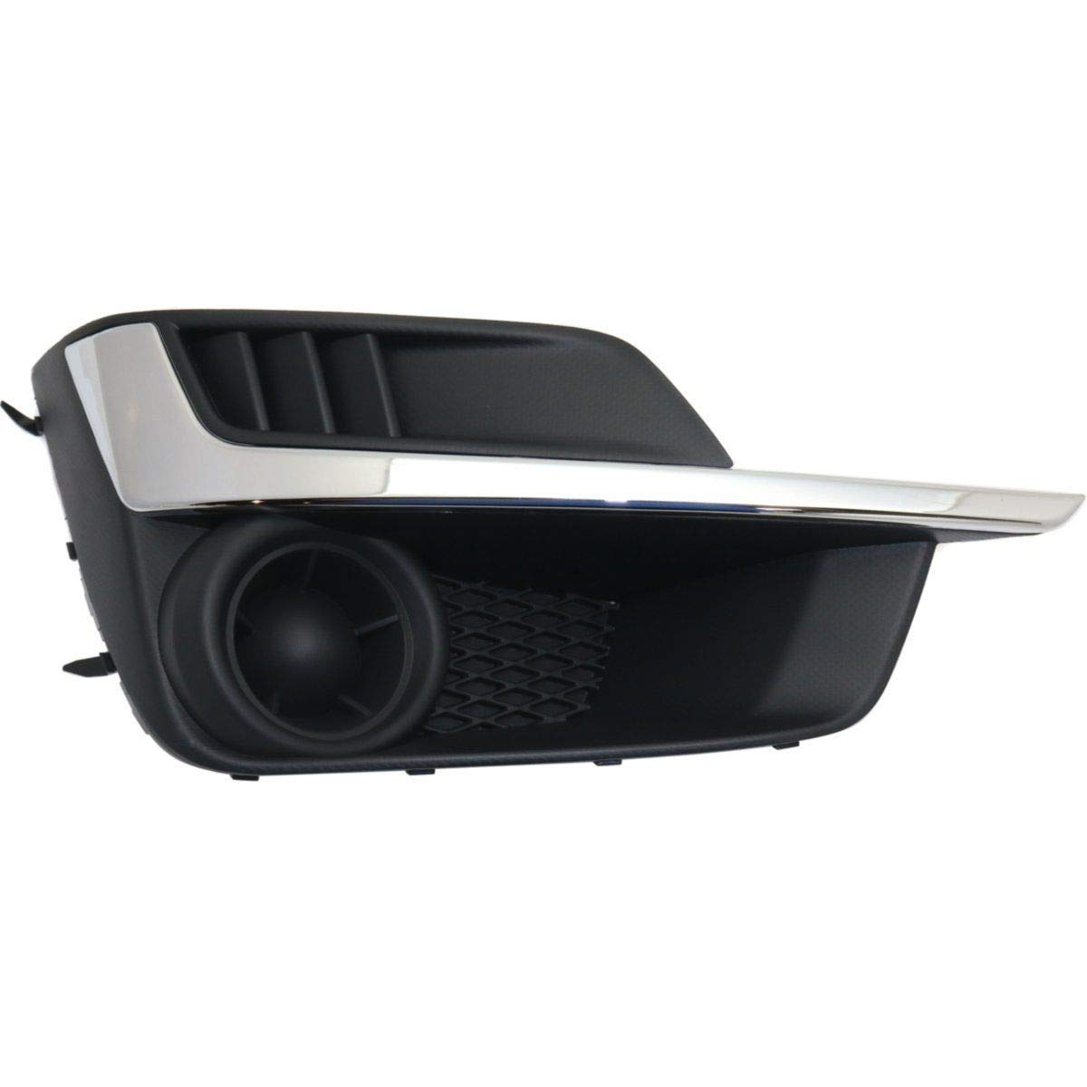 New Right Passenger Side Fog Lamp Cover For 2015-2016 Subaru Impreza With Chrome Molding Sedan Wagon SU1039109 57731FJ400