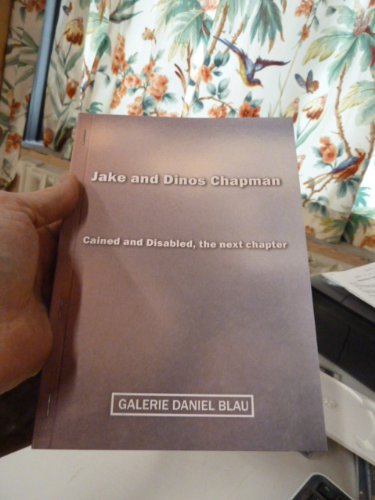 Jake and Dinos Chapman: Cained and Disabled, the next chapter