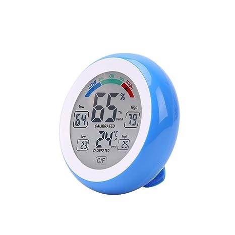 Topker Termómetro digital higrómetro ° C / ° F Temperatura Medidor de humedad Máx. Mín