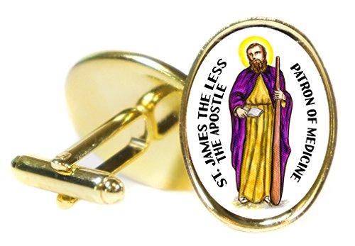 Saint James the Less the Apostle Patron of Medicine 18x24mm (3/4