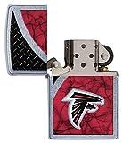 Zippo NFL Atlanta Falcons Street Chrome Pocket