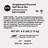 Frostline Gingerbread Soft Serve Mix, Artificially