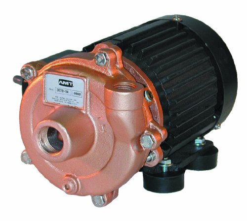 AMT Pump 3670-97 Marine Pump, Bronze, 1/4 HP, 1 Phase, 115V, Curve B, 3/4