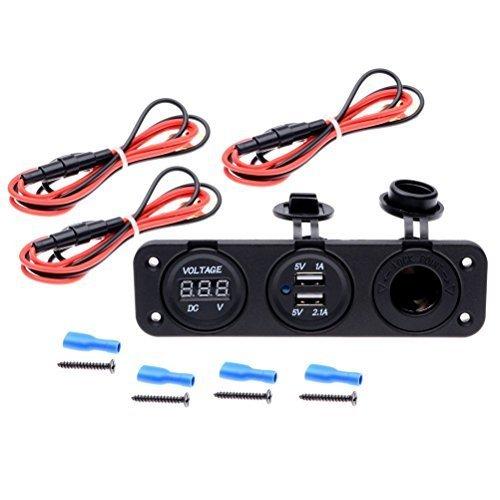 astra-depot-triple-function-dual-usb-charger-voltmeter-12v-outlet-socket-panel-jack-marine-for-digit
