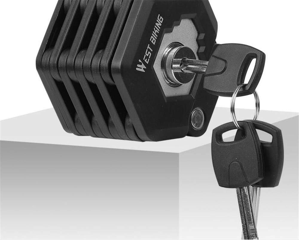 Mini Portable Cadenas Shengtangb Velo Serrure Cadenas Antivol Velos Cadenas Velos Verrou De Bicyclette,Cha/înes Antivol pour V/élo Verrou De C/âble en Acier Antivol Verrouillage De V/élo De Montagne