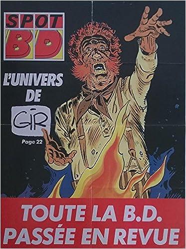 Livre gratuits en ligne Gir - Spot BD - L'Univers de Gir - affiche promotionnelle - 46 x 58 cm pdf epub