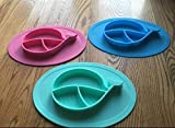 Oval Silicone Placemat For Food, Silicone Mini Mat