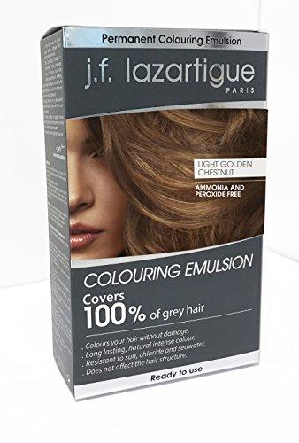 (J.F. Lazartigue Color Emulsion - Light Golden Chestnut 2oz )