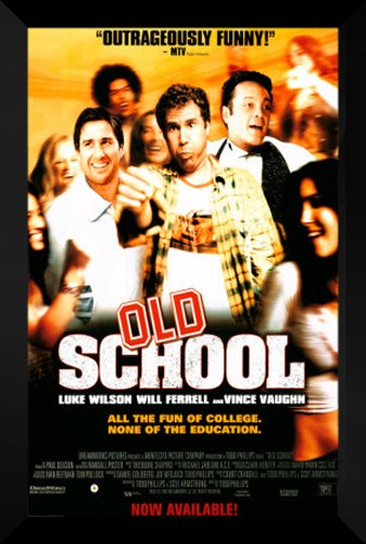 Old School FRAMED 27x40 Movie Poster: Will Ferrell by ArtDirect
