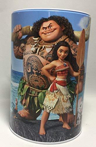 The Tin Box Company Moana and Maui Coin (Money) Bank - Coconut trees