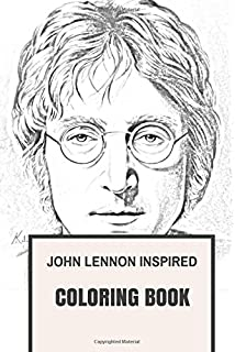 john lennon inspired coloring book beatles and sixties pop culture inspired adult coloring book - Beatles Coloring Book