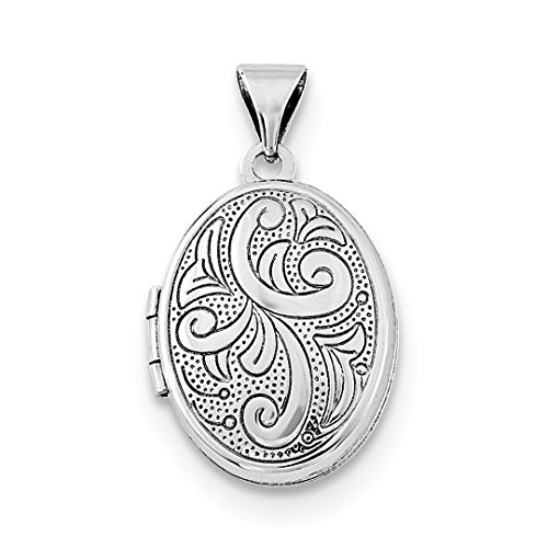(925 Sterling Silver Oval Photo Pendant Charm Locket Chain Necklace That Holds Pictures Fine Jewelry For Women Gift Set)