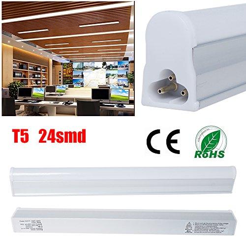 Excellent 10x 5W T5 LED Light Tubes Day White 300mm/1 Ft (Pack 0f 10)