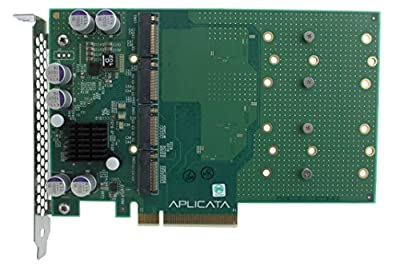 Aplicata Quad M.2 NVMe SSD PCIe x8 Adapter from Aplicata Technologies Inc.