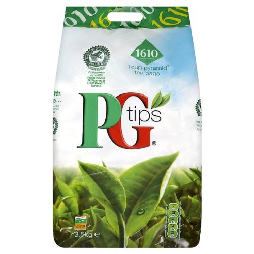 PG Tips 2X1610 1 Cup Pyramid Tea Bags 3.5Kg