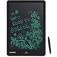 Elepaio Wicue Portable RuffPad E-Writer 10Inch LCD Writing Paperless Digital Tablet Notepad (Black)