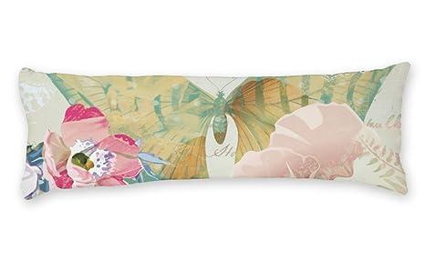 Amazon.com: AILOVYO - Funda de almohada de satén con diseño ...
