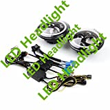 GOWE LED Headlight Halo Angle Eyes For Jeep Wrangler 1997-2015 JK TJ LJ 2pcs 7inch Motor Headlight Lamp 12V-30V DC